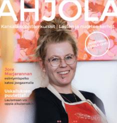 Ahjola-lehti on uudistunut! Lue tästä